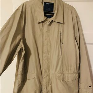 Nautica Men's Trench & Rain Coat